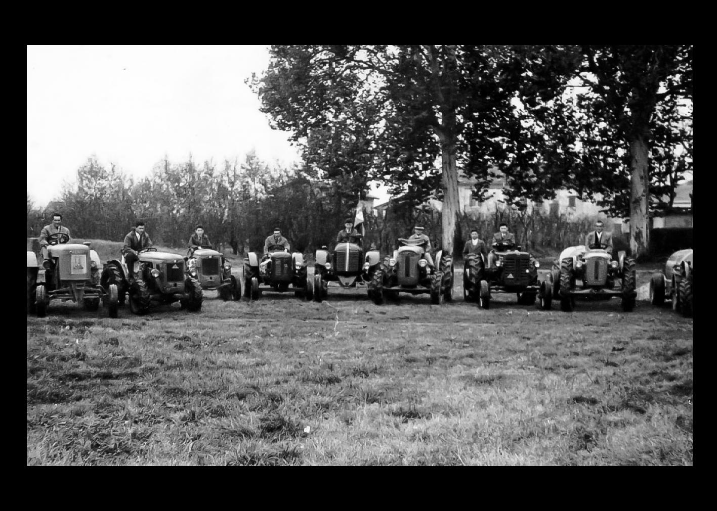 Raduno di trattori
