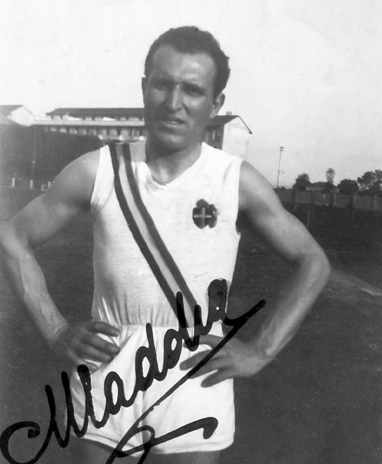 Taddia Mario  – Campione italiano salto triplo