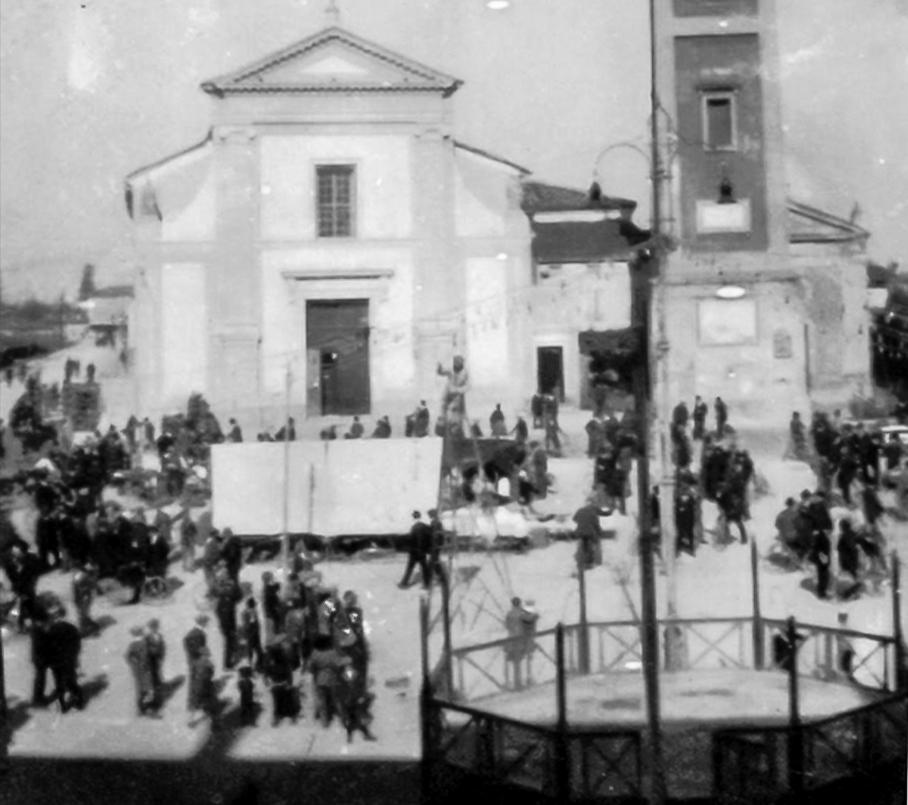 Piazza Marconi in fiera