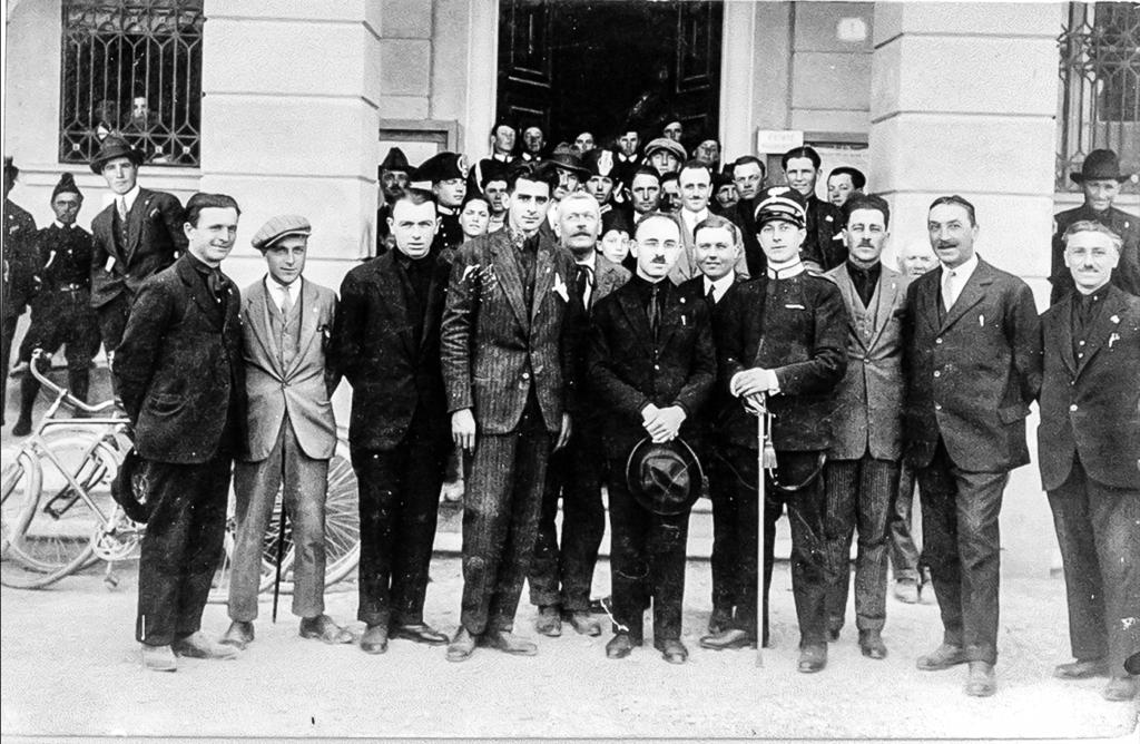 Primo consiglio comunale fascista 1923