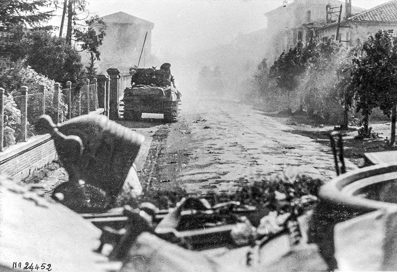 Aprile 1945 – Liberazione Mirabello – 1