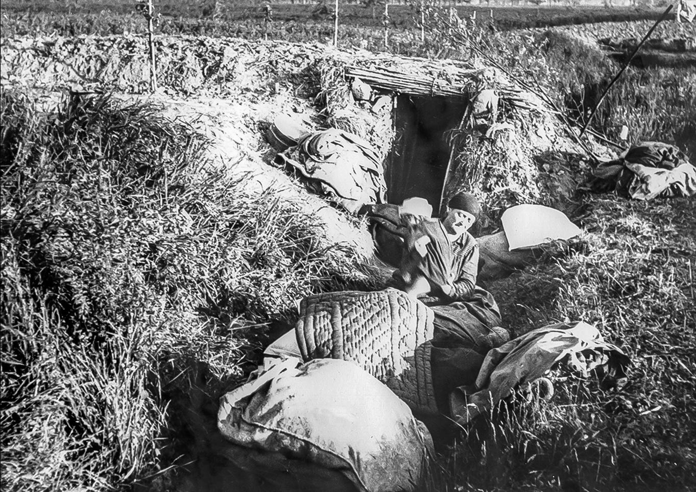 1945 – Liberazione di Mirabello, i rifugi