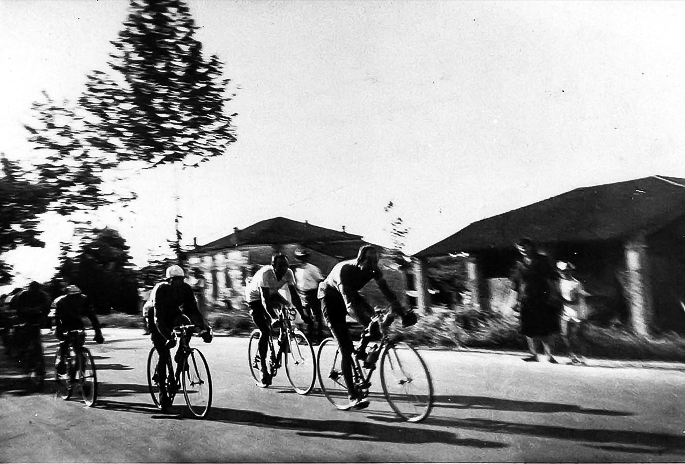 Passaggio del Giro d'Italia 1950