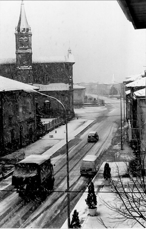 Nevicata a Dosso